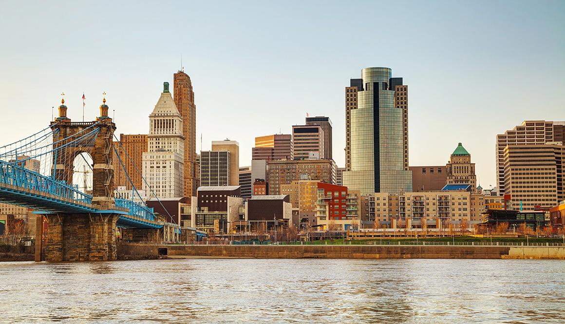 Cincinnati Ohio and surrounding area